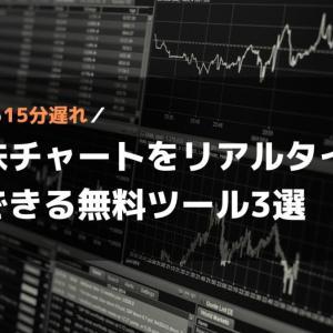 さよなら15分遅れ|米国株の株価をリアルタイムで見れる無料ツール3選