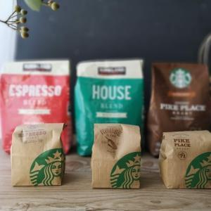 costco×starbucksのコーヒー豆。コストコ版とスタバ版違いは有るの?