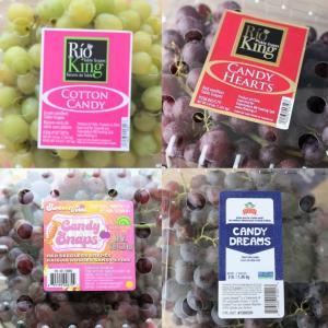 【コストコ】キャンディが付くブドウは甘い!!4種まとめ