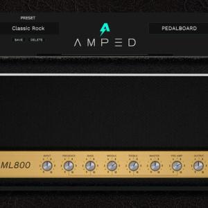 【ML Sound Lab】Amped ML800 レビュー【JCM800】