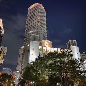 ザ・リッツ・カールトン大阪から再開発の梅田北を望む