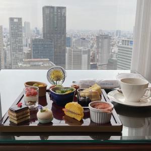 【アフターコロナ】ザ・リッツ・カールトン大阪のクラブラウンジのフードプレゼンテーションを堪能する