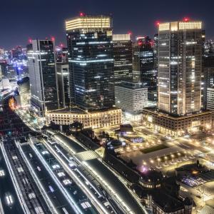 【東京駅直結】ホテルメトロポリタン丸の内のトレインビューとスカイツリービューの部屋