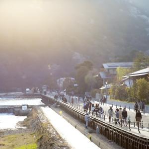 【20年8月開業】嵐山の渡月橋を部屋から望むMUNIホテル京都