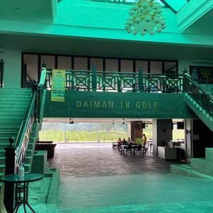2回目ゴルフはDaiman 18 Golf Club