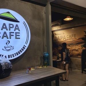 ペランギ近くのベトナム料理屋「SAPA CAFE」
