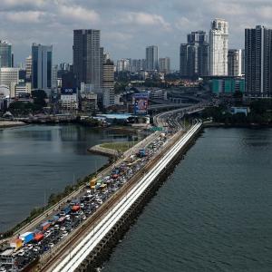 ジョホールバル・シンガポール間の往来再開