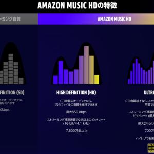 Amazon Music HDのすすめ。【78/100】