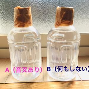 ★☆一ヶ月観察・音叉の効果実験 Bのボトルに異変が!24日目☆★