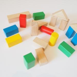 図形構成の力が伸びる!つみきパズルを手作りで