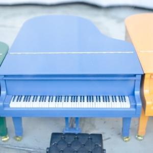 おもちゃのピアノから電子ピアノへ