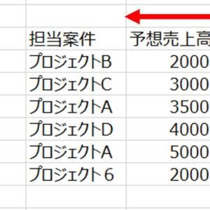 【真似するだけ】Excelで見やすい表を作る簡単な方法