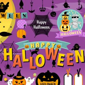 Скоро вечеринка на Хэллоуин!