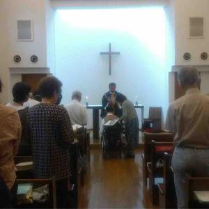 神様に導かれて 9 「洗礼式」