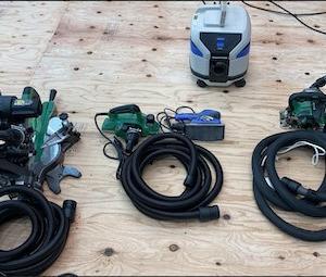 ハイコーキ集塵機とハイコーキ電動工具との接続アダプタについて