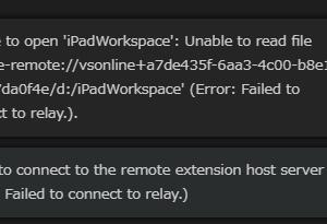Self hostedのVS Codeに接続できなくなったときの対策