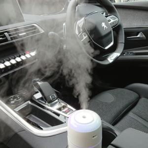 車の加湿器 ②