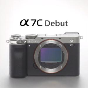 SONYがニューコンセプト、小型フルサイズカメラ α7C を発表!!