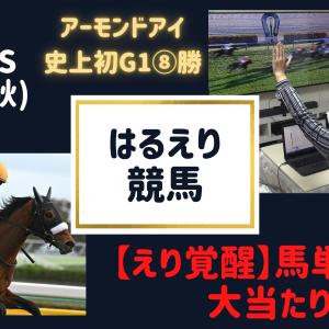 【はるえり競馬】2020.11.1|カシオペアステークス・天皇賞(秋)
