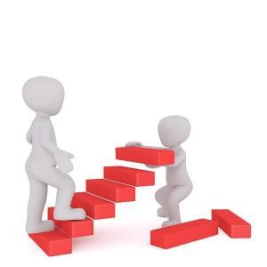 苦手なことは、一段ずつ階段を上がるように