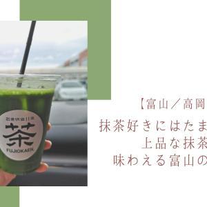 【富山/高岡市・藤岡園】抹茶好きにはたまらない!!上品な抹茶ドリンクが味わえる富山のお茶屋さん
