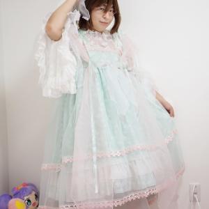 高級ロリィタ服が届きましたヾ(≧▽≦)ノ