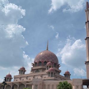 旅記ログ21@クアラルンプールのピンクモスク