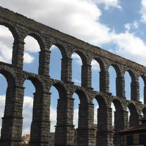 旅記ログ28@世界遺産の街セゴビア水道橋と白雪姫の城