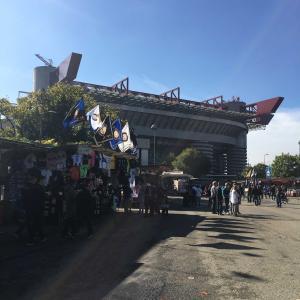 旅記ログ58@ミラノでサッカー観戦です