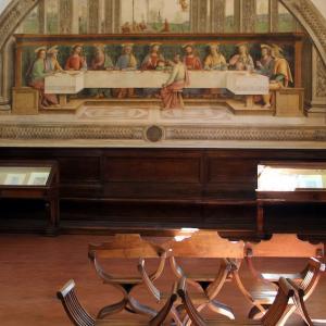 《最後の晩餐》ペルジーノ  《Ultima cena》Perugino