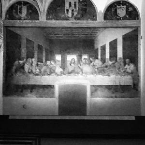 《最後の晩餐》レオナルド・ダ・ヴィンチ  《Ultima Cena》Leonardo da Vinci