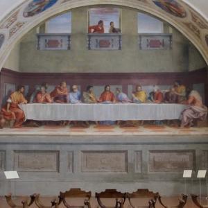 《最後の晩餐》アンドレア・デル・サルト  《Ultima cena》Andrea del Sarto
