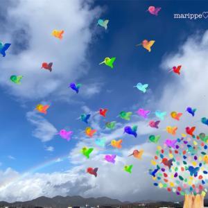 """""""虹空のキャンバスに思いをのせて…~未来は僕らの手の中~追記あり"""""""