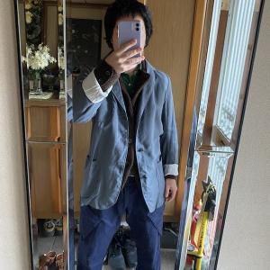 イギリスのポストマンジャケット ひきこもりでもお洒落がしたい