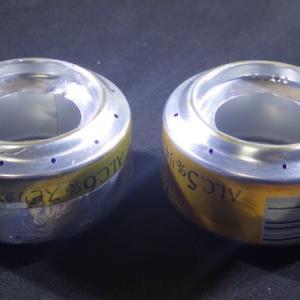 350㎖アルミ缶によるアルスト自作、プロトタイプNo.2・No.3。