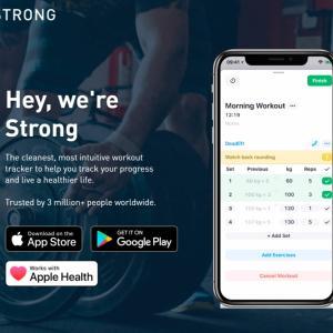 【筋トレ神アプリ】筋トレ記録アプリは「Strong」を使うべし!