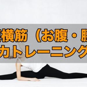 猫背・腰痛を治したいなら腹筋から!腹横筋の筋トレ方法!!