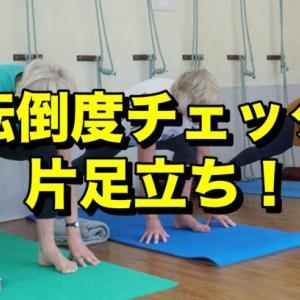 同年代の人と運動能力を比較!片足立ちでできる転倒度チェック法!!