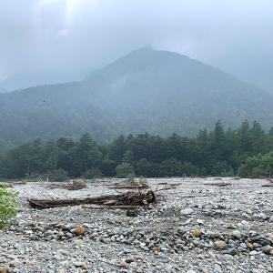 上高地・徳沢で野営 1