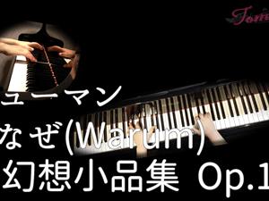 """なぜ 『幻想小品集 作品12』 R.シューマン """"Warum"""" Op.12-3 『Phantasiestüke』Fantasiestücke"""