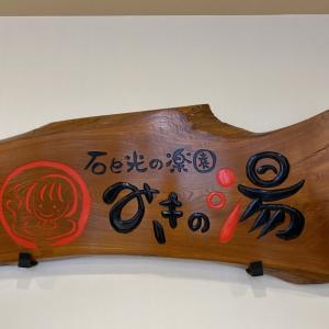 千葉県東金市 湯船に鯉が?石と光の楽園 みきの湯