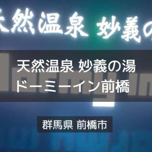 群馬県サウナ&水風呂 天然温泉妙義の湯 ドーミーイン前橋
