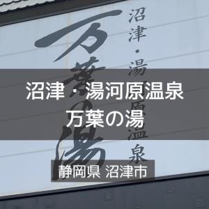 静岡県サウナ&水風呂 沼津・湯河原温泉 万葉の湯
