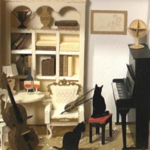 『音楽のある部屋』を作りました
