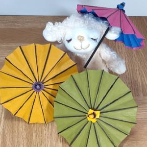 『和傘』に挑戦してみました