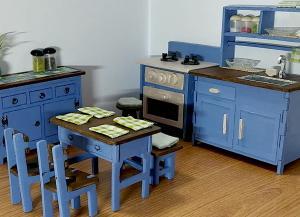 フレンチカントリー風キッチン(2)