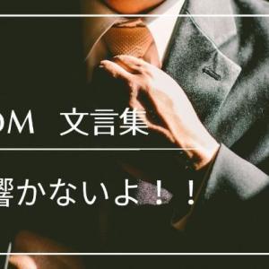 【文言集】勧誘DM送られても何も響かないからやめてくれ!!
