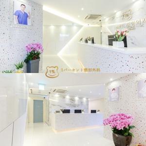 輪郭専門|韓国1%整形外科の院内探訪☆クマがたくさん!!