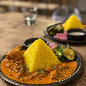 【NATUREMIAN Spicy curry 】京都ナチュレミアンスパイスカレー🍛カラフル🌈で美しすぎる魅惑のカレーライス🍛