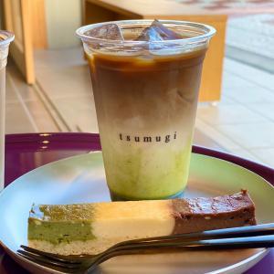 【紡(つむぎ)Cafe】tsumugi cafe 京都駅近くオススメの穴場カフェ☕️話題の3層のスィーツ